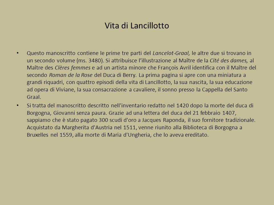 Vita di Lancillotto