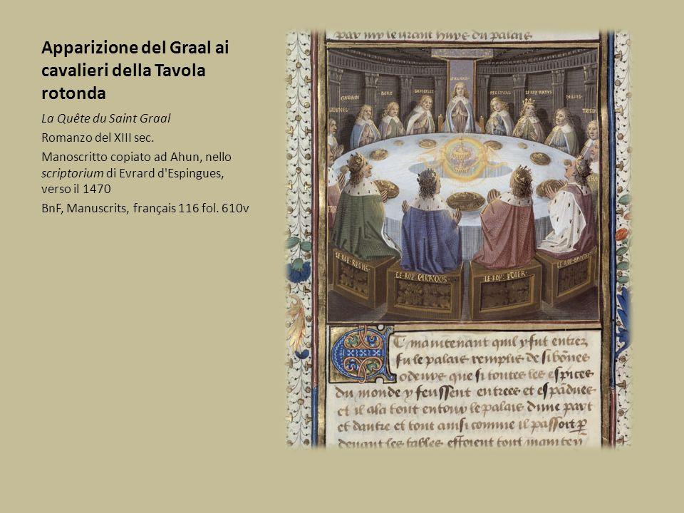 Apparizione del Graal ai cavalieri della Tavola rotonda