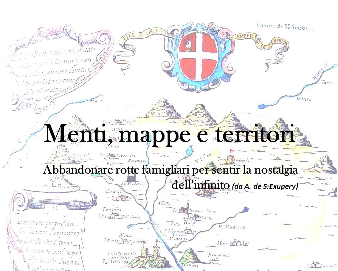 Menti, mappe e territori