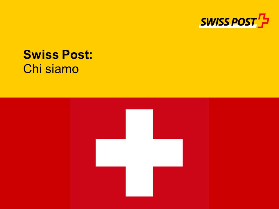 Swiss Post: Chi siamo 1