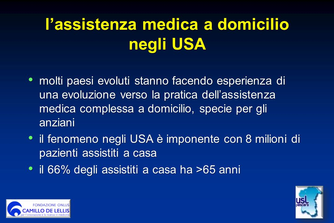 l'assistenza medica a domicilio negli USA