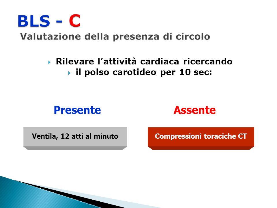 BLS - C Valutazione della presenza di circolo