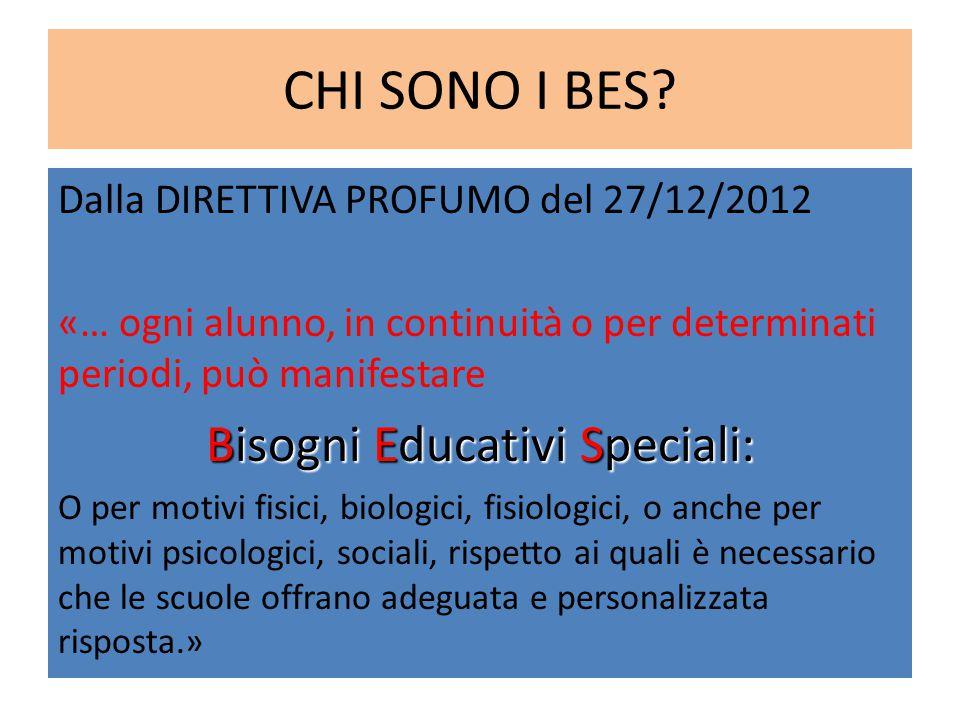 Bisogni Educativi Speciali: