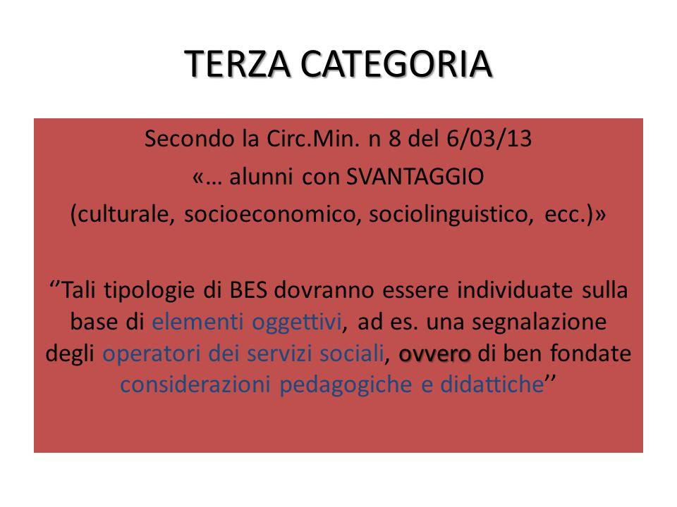 TERZA CATEGORIA