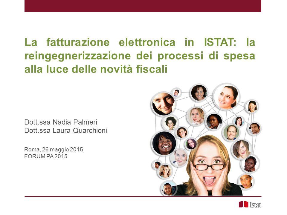 La fatturazione elettronica in ISTAT: la reingegnerizzazione dei processi di spesa alla luce delle novità fiscali