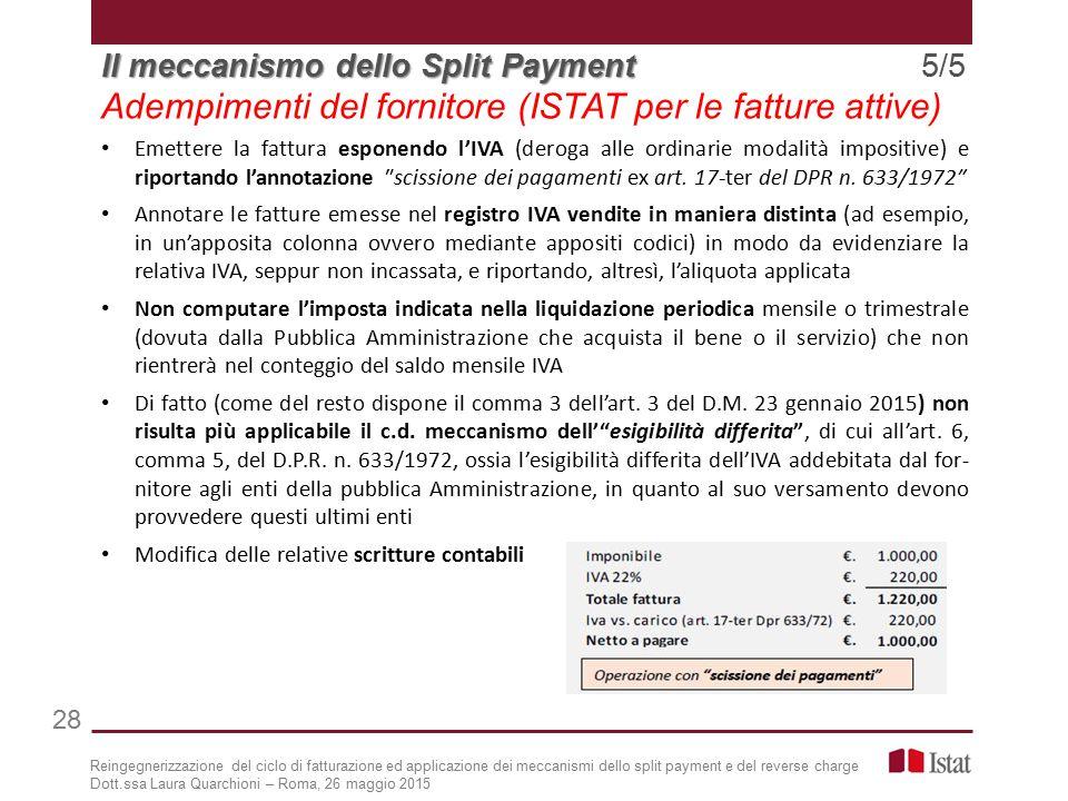 Adempimenti del fornitore (ISTAT per le fatture attive)