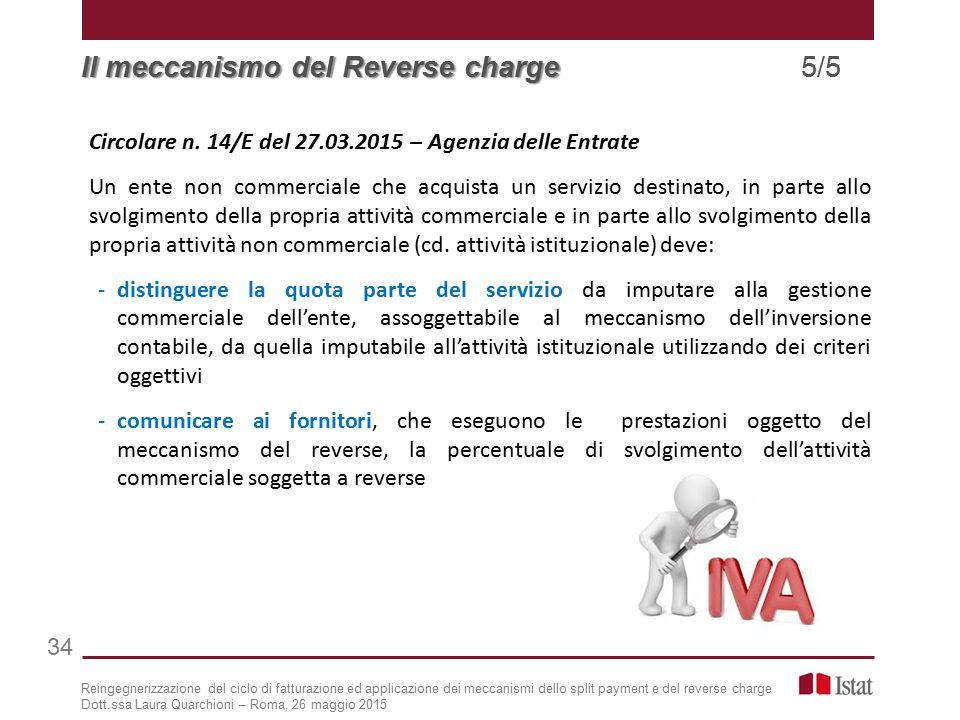 Il meccanismo del Reverse charge 5/5
