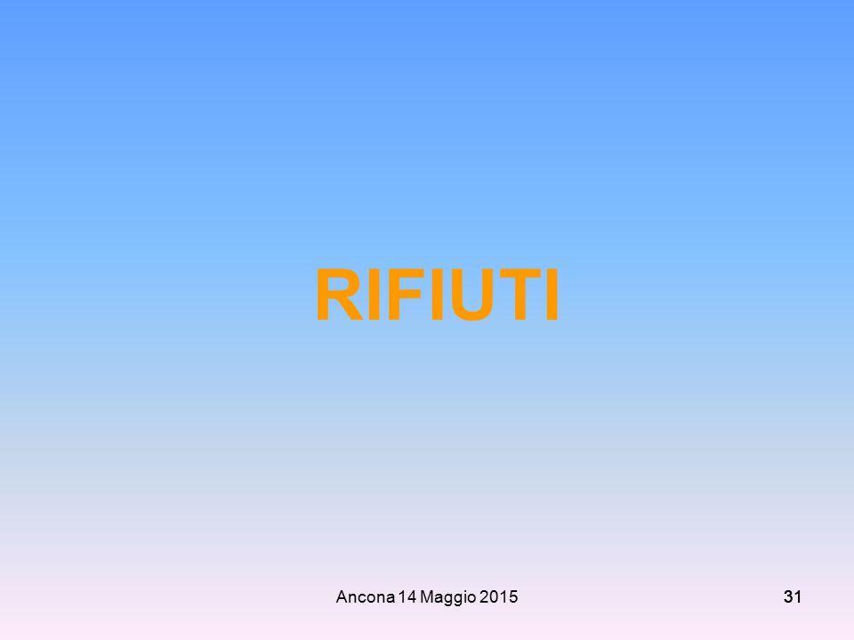 RIFIUTI Ancona 14 Maggio 2015 31 31