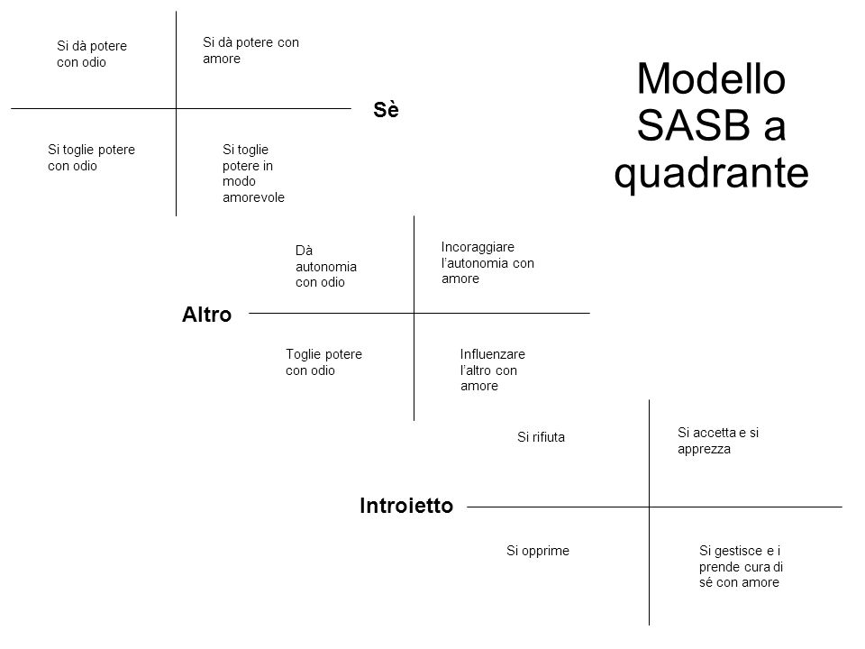 Modello SASB a quadrante