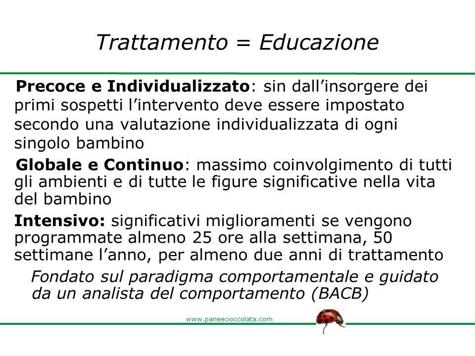 Trattamento = Educazione