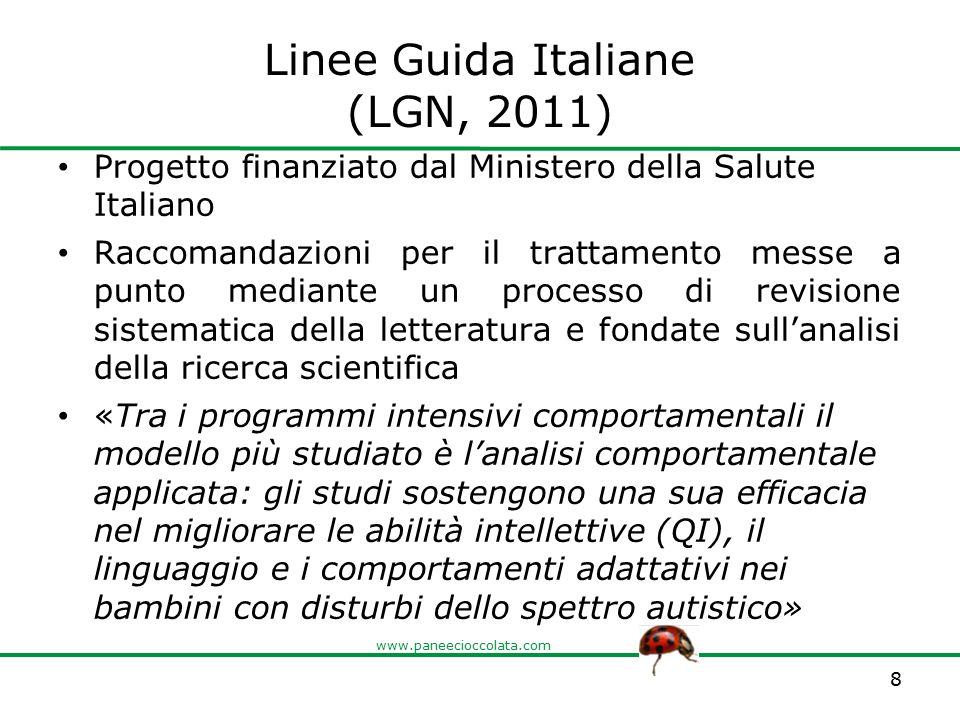 Linee Guida Italiane (LGN, 2011)