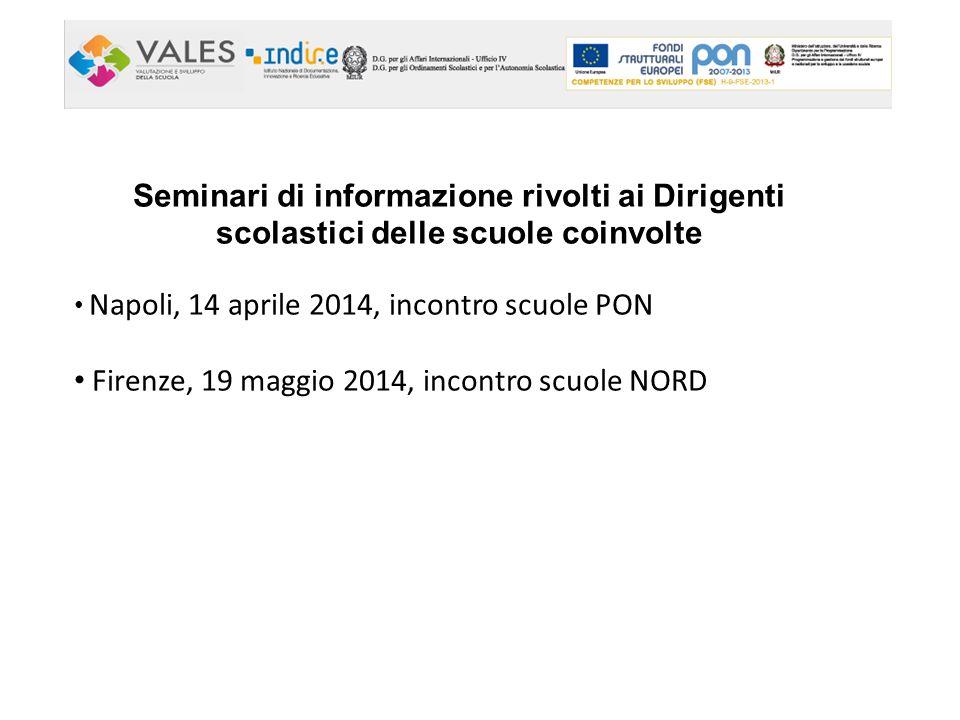 Firenze, 19 maggio 2014, incontro scuole NORD