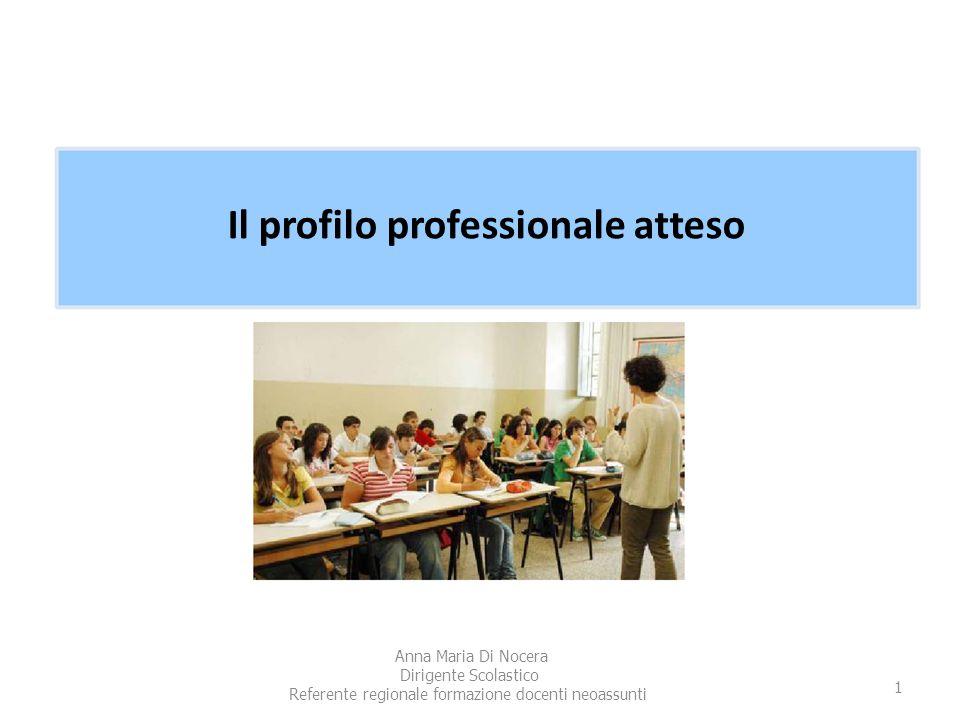 Il profilo professionale atteso