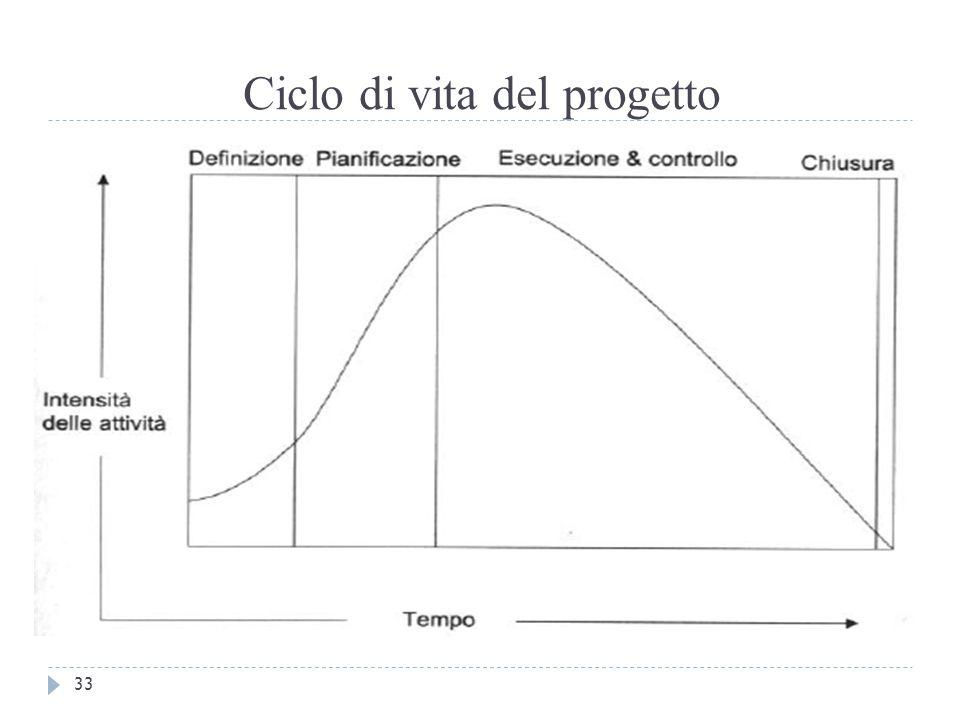Ciclo di vita del progetto