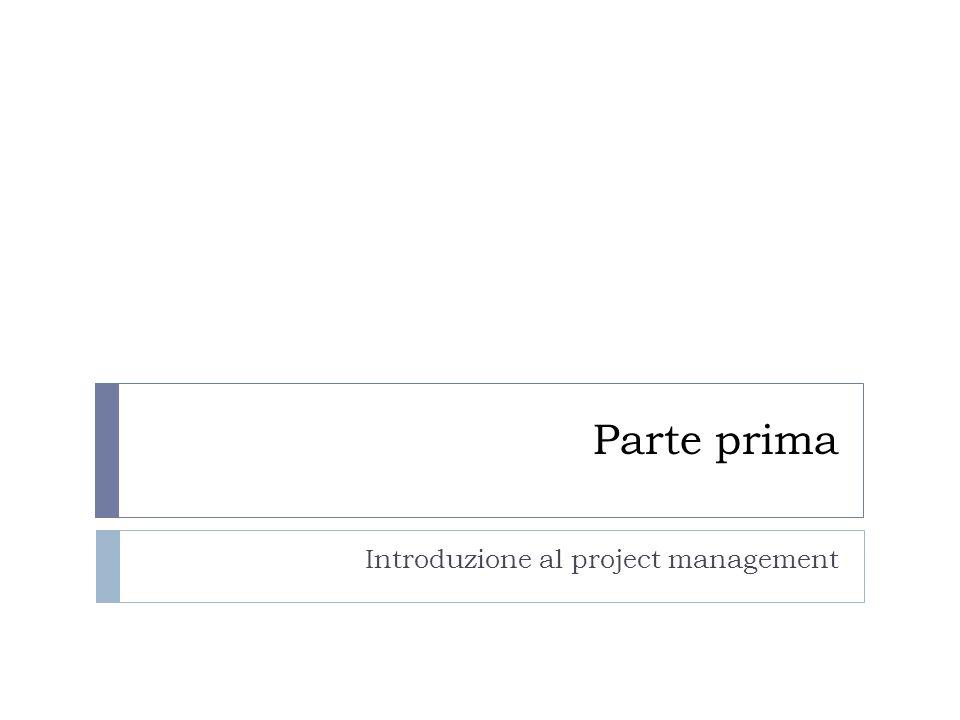 Introduzione al project management