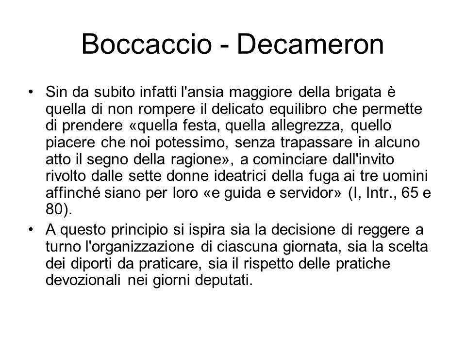 Boccaccio - Decameron
