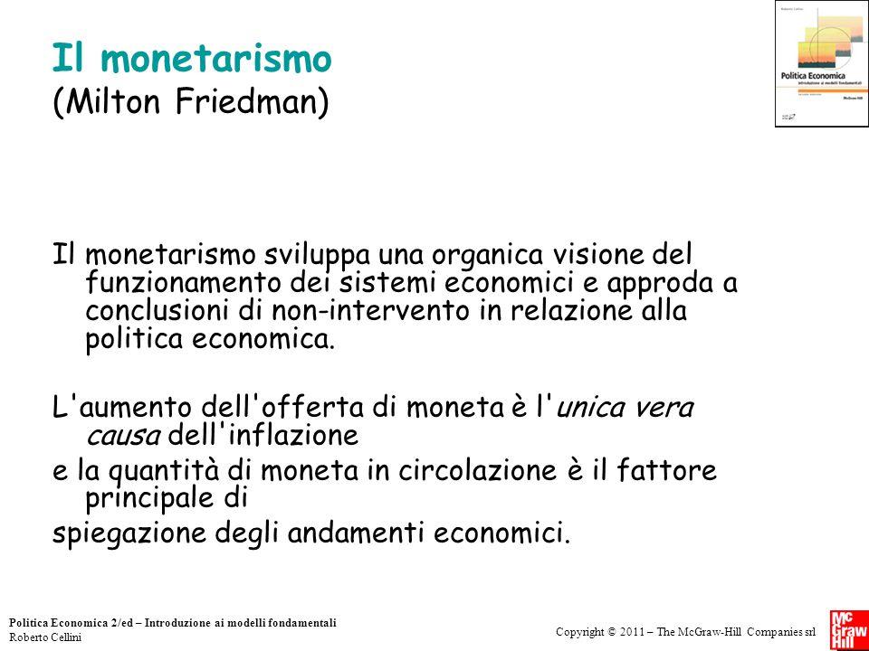 Il monetarismo (Milton Friedman)