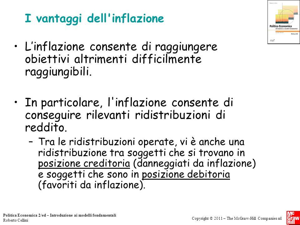 I vantaggi dell inflazione