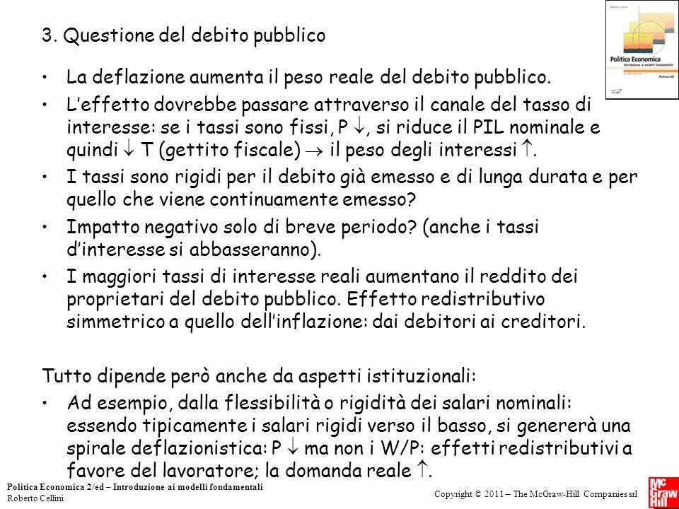 3. Questione del debito pubblico