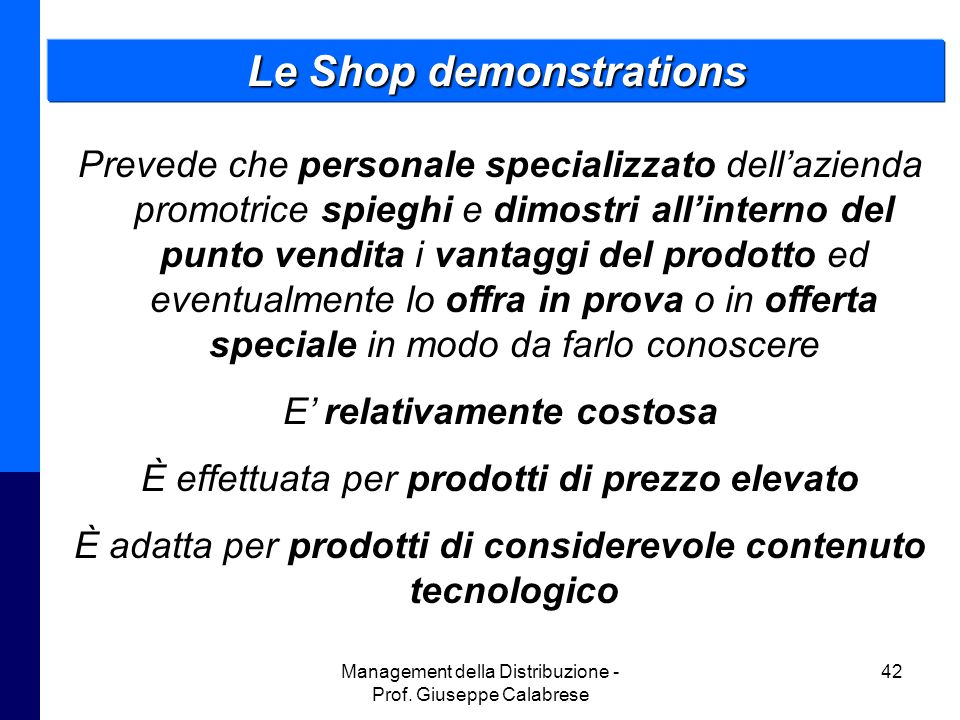Le Shop demonstrations