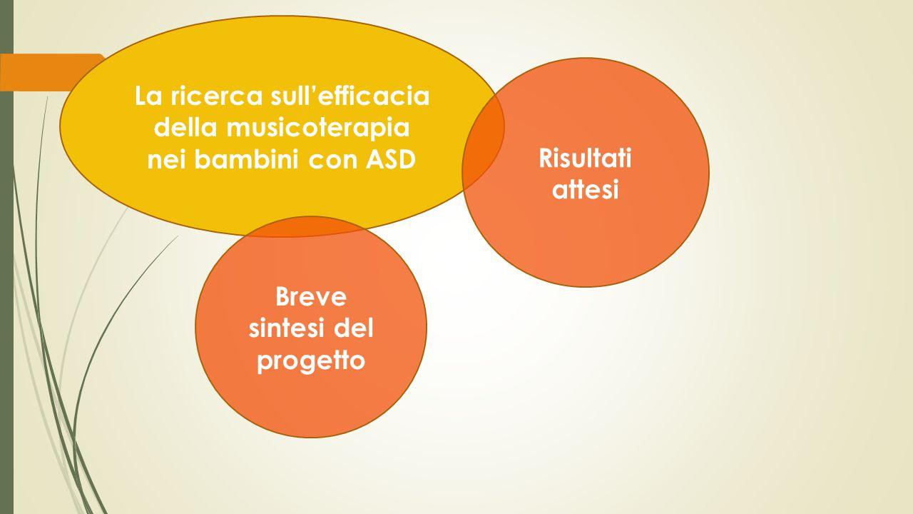 La ricerca sull'efficacia della musicoterapia nei bambini con ASD