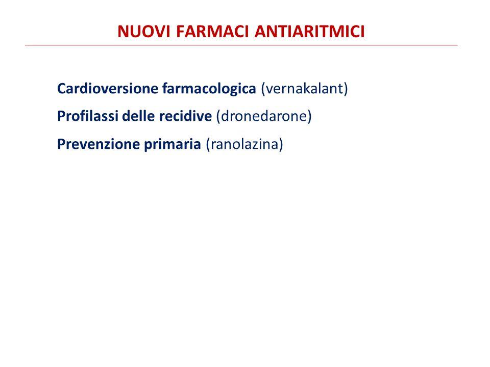 Nuovi farmaci antiaritmici