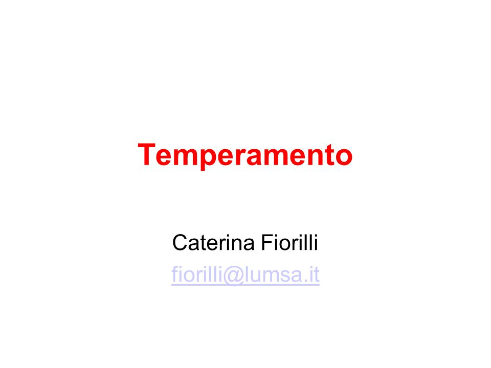 Caterina Fiorilli fiorilli@lumsa.it