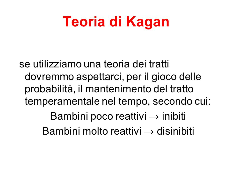Teoria di Kagan
