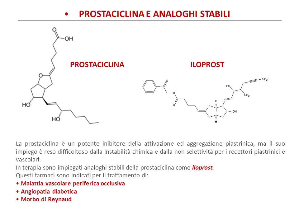 PROSTACICLINA E ANALOGHI STABILI