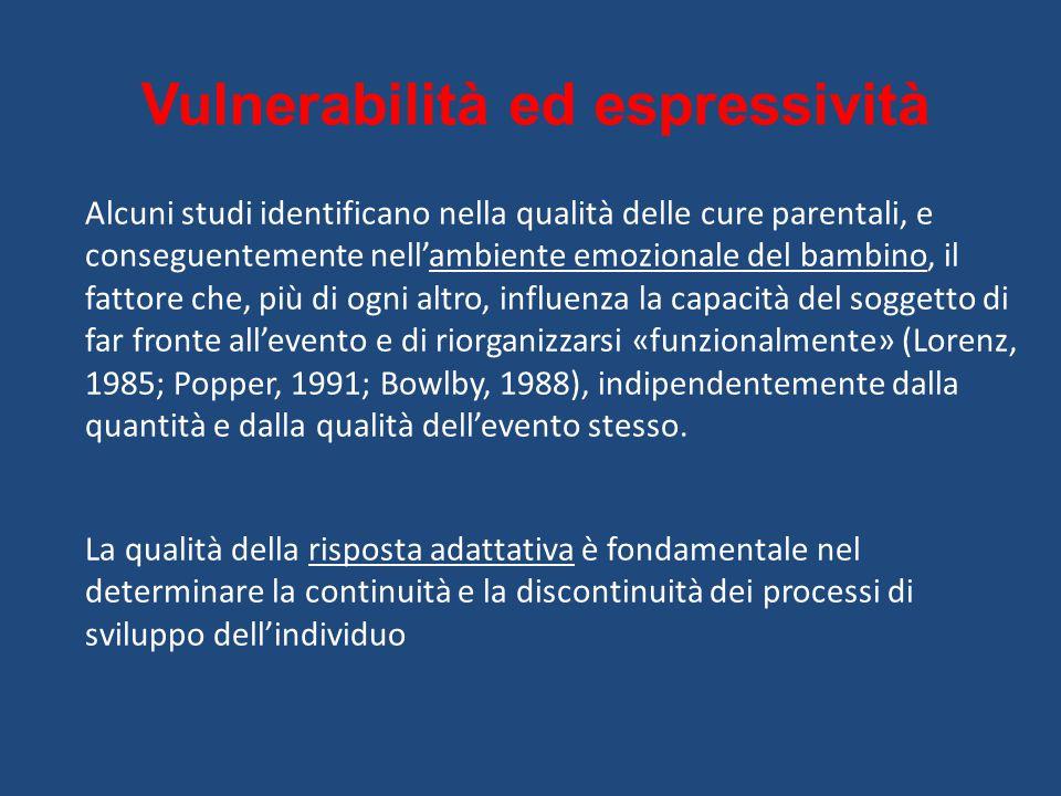 Vulnerabilità ed espressività