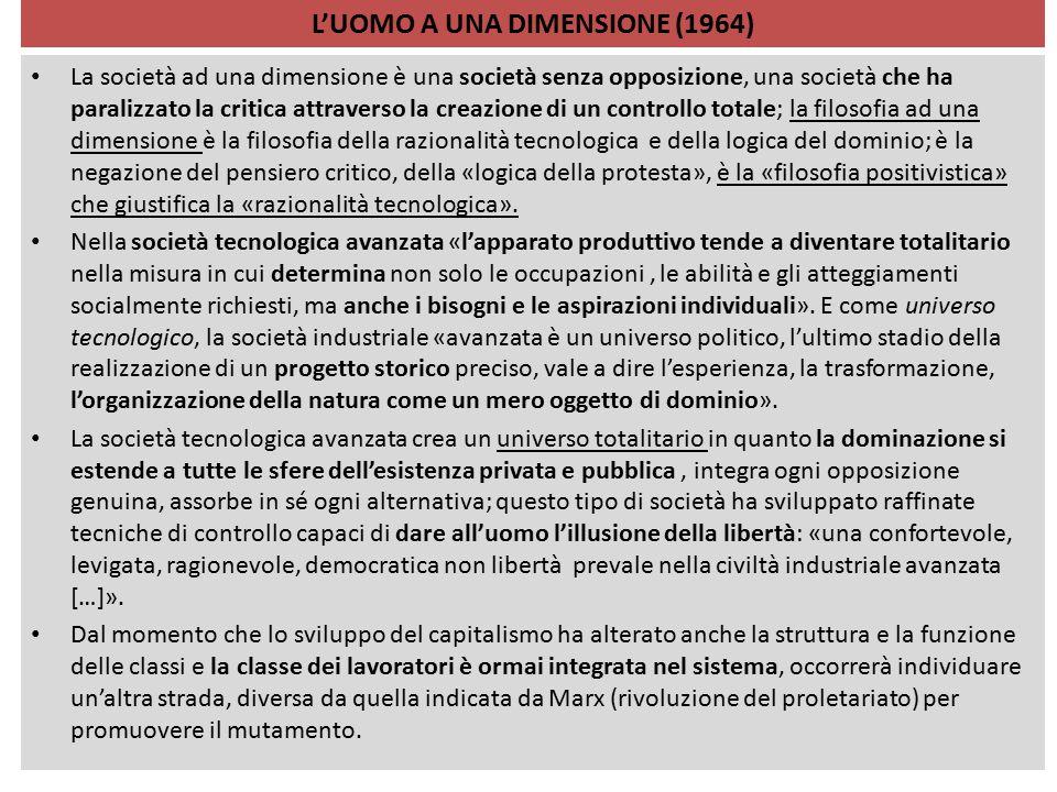 L'UOMO A UNA DIMENSIONE (1964)
