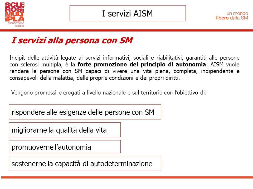I servizi alla persona con SM