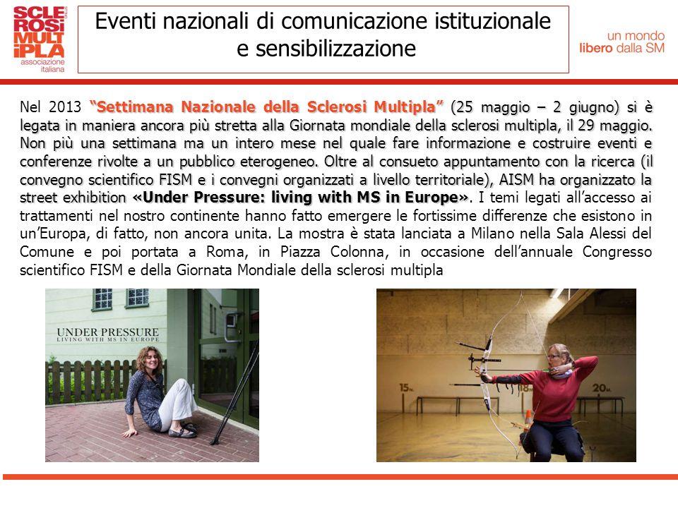 Eventi nazionali di comunicazione istituzionale