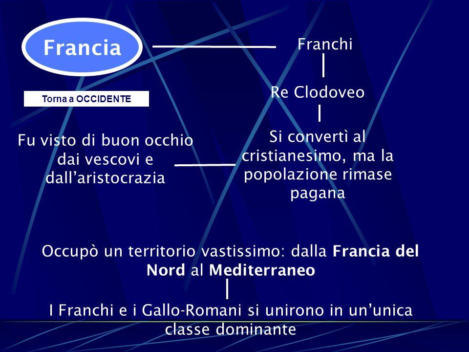 Francia Franchi Re Clodoveo
