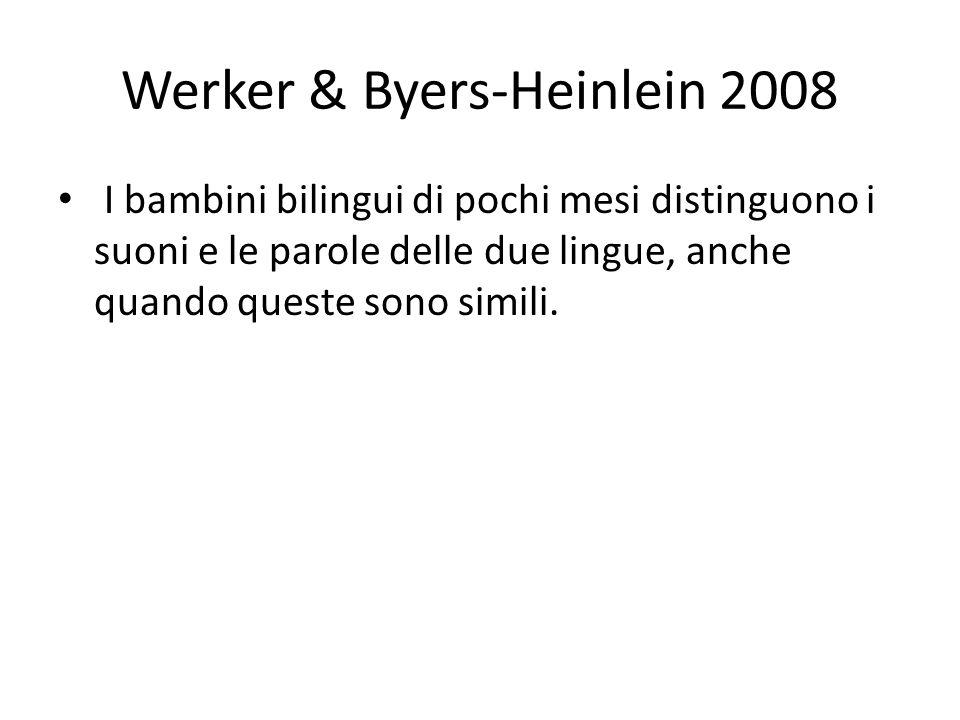 Werker & Byers-Heinlein 2008