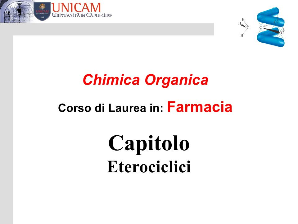 Capitolo Eterociclici