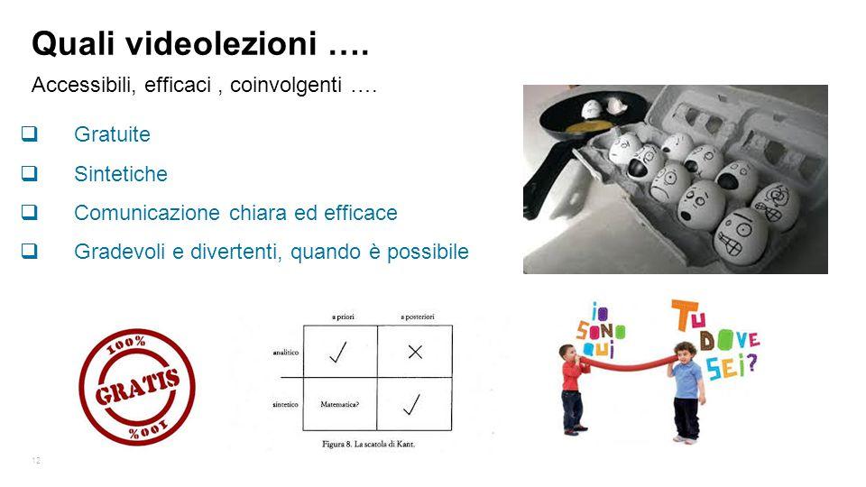 Accessibili, efficaci , coinvolgenti ….