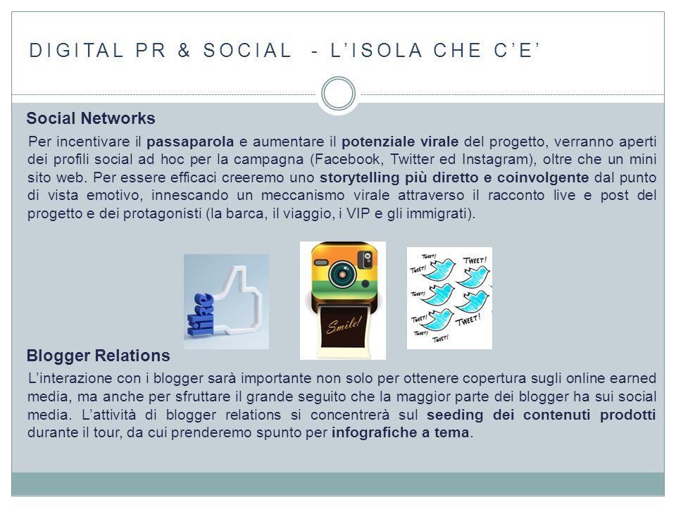 DIGITAL PR & SOCIAL - L'ISOLA CHE C'E'