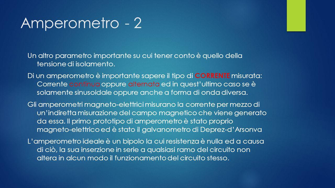 Amperometro - 2