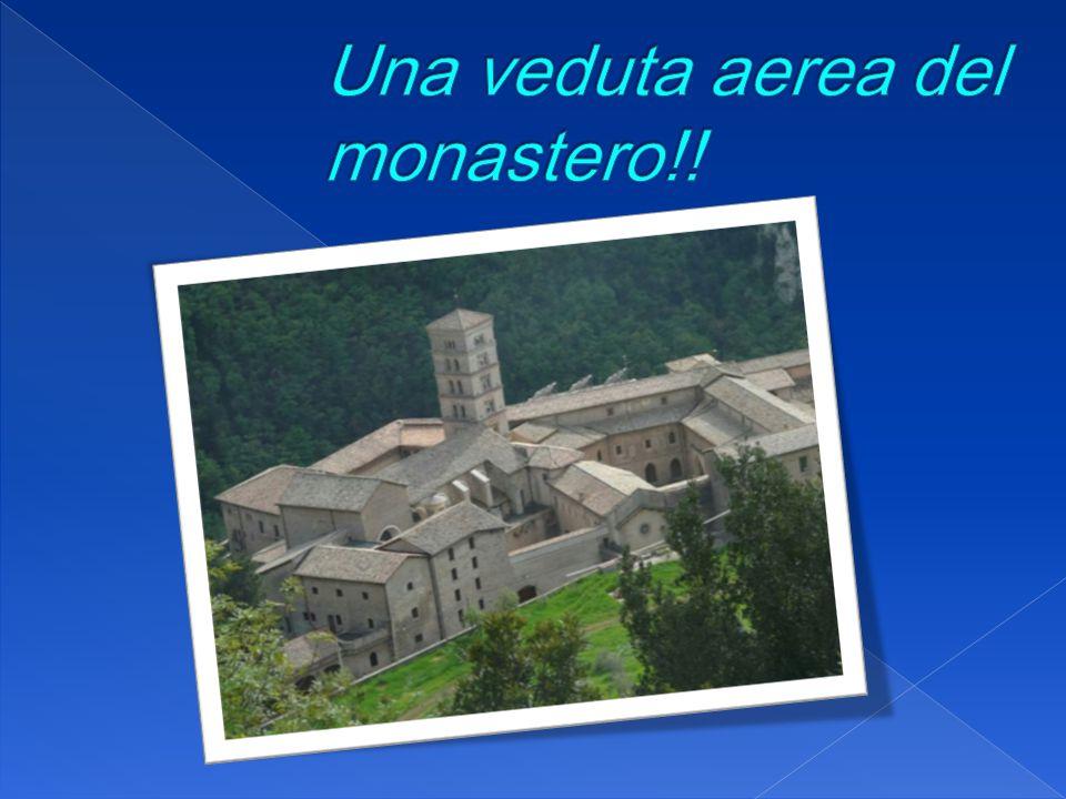 Una veduta aerea del monastero!!