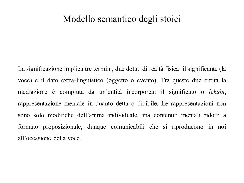 Modello semantico degli stoici