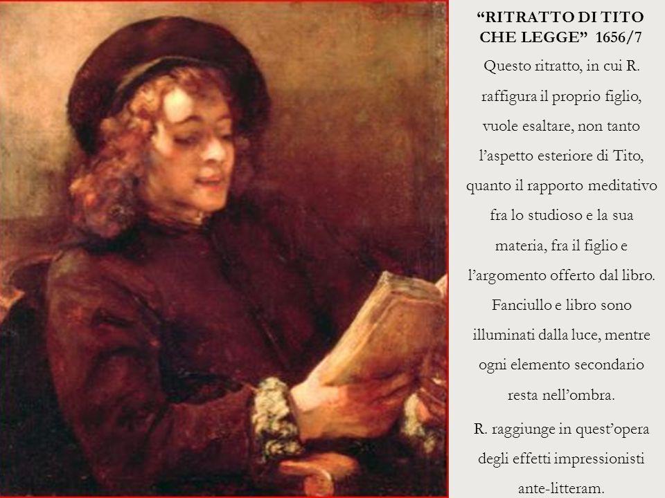 RITRATTO DI TITO CHE LEGGE 1656/7