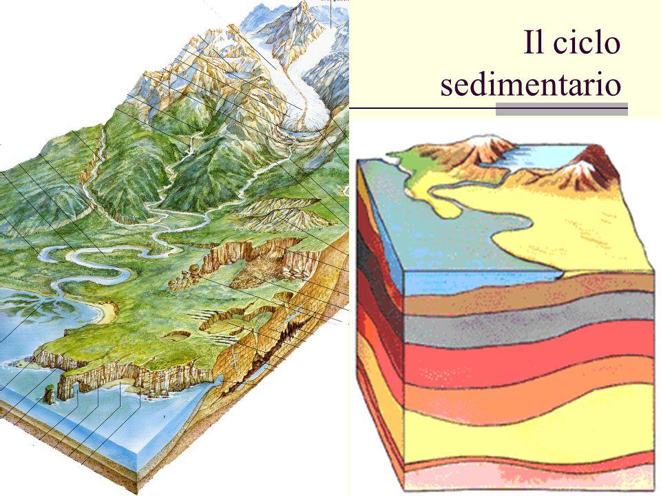Il ciclo sedimentario