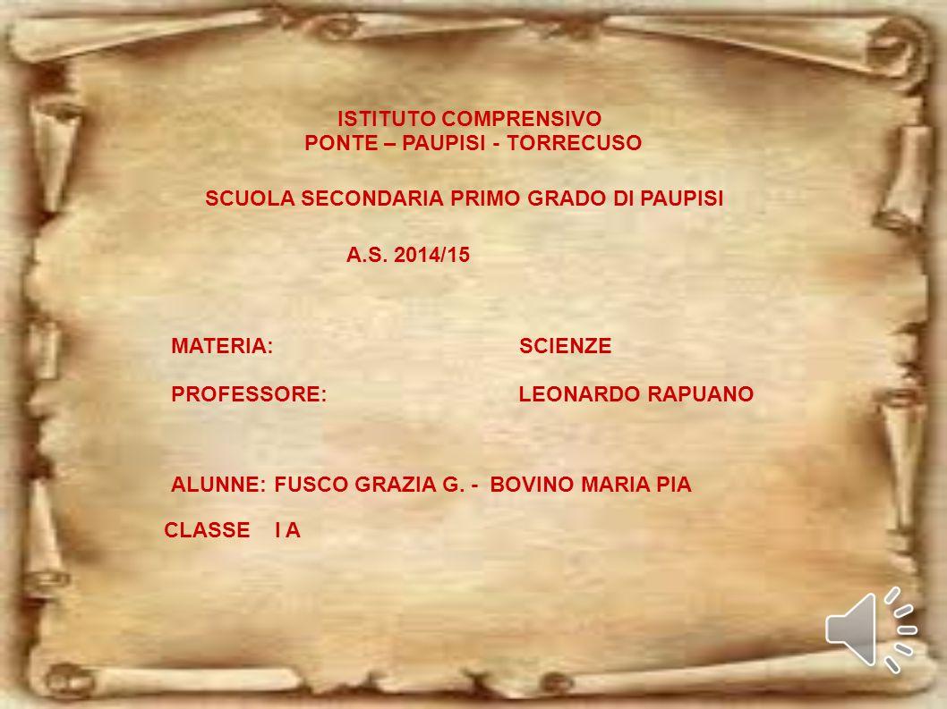 PONTE – PAUPISI - TORRECUSO