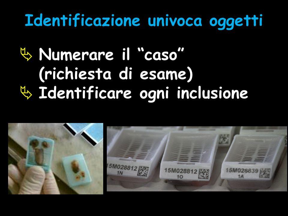 Identificazione univoca oggetti