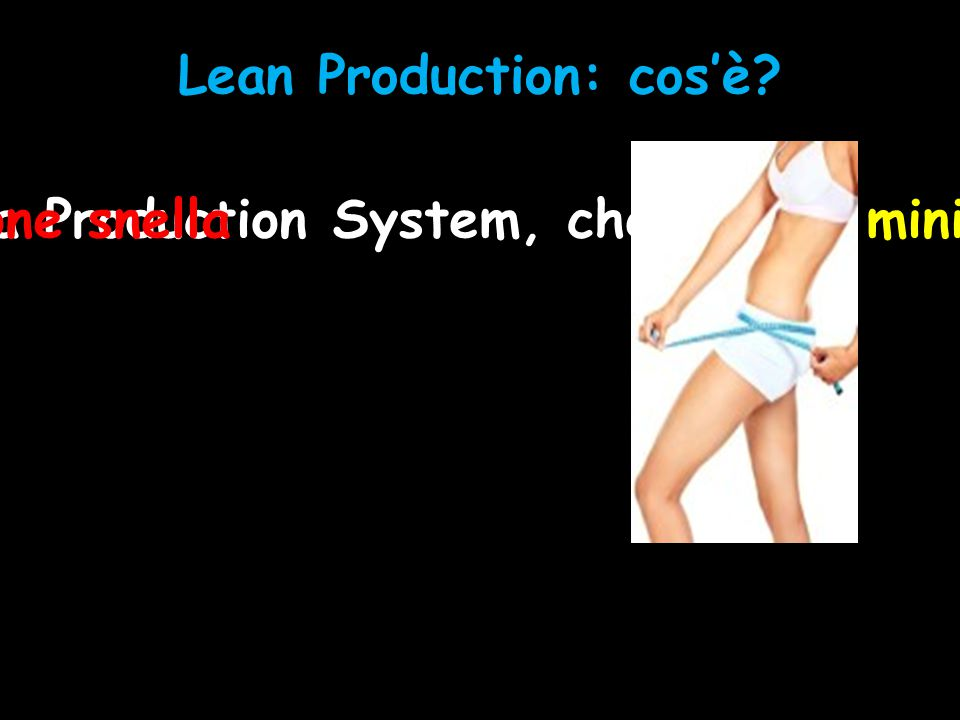Lean Production: cos'è