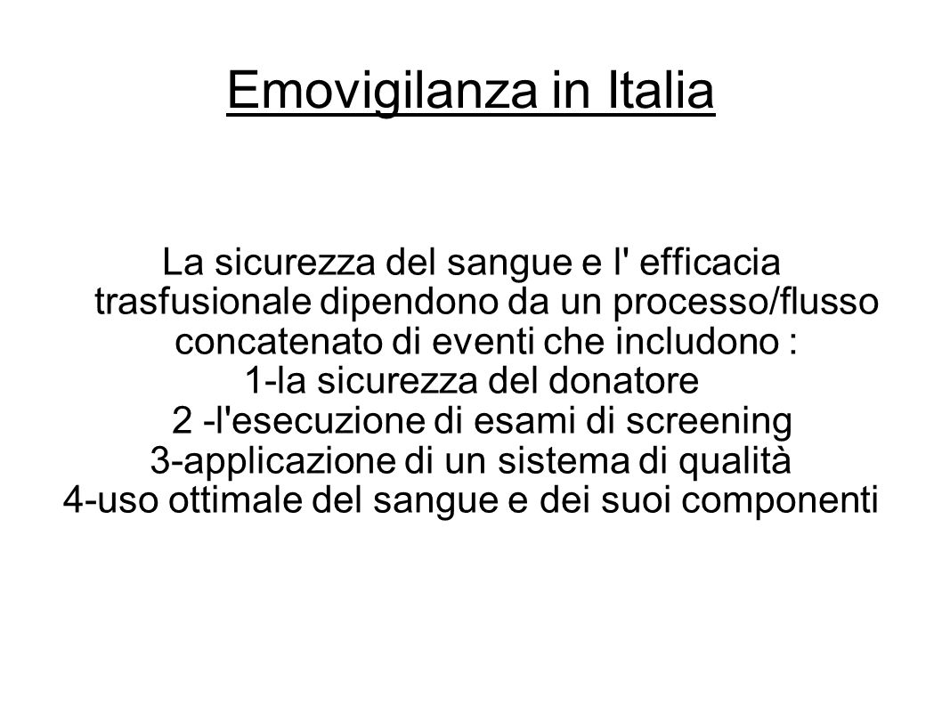 Emovigilanza in Italia