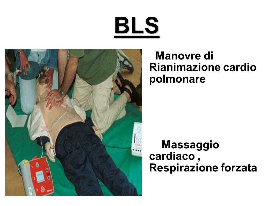 BLS Manovre di Rianimazione cardio polmonare