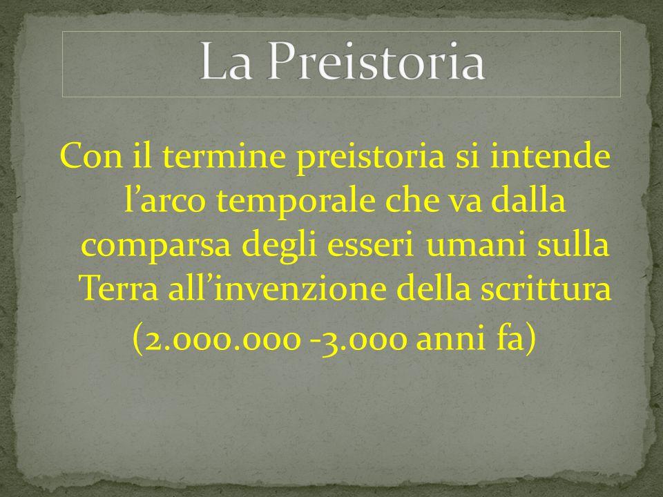 La Preistoria