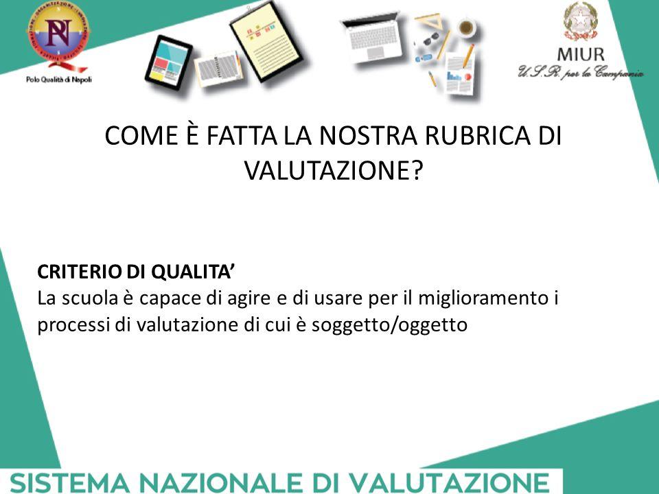 COME È FATTA LA NOSTRA RUBRICA DI VALUTAZIONE
